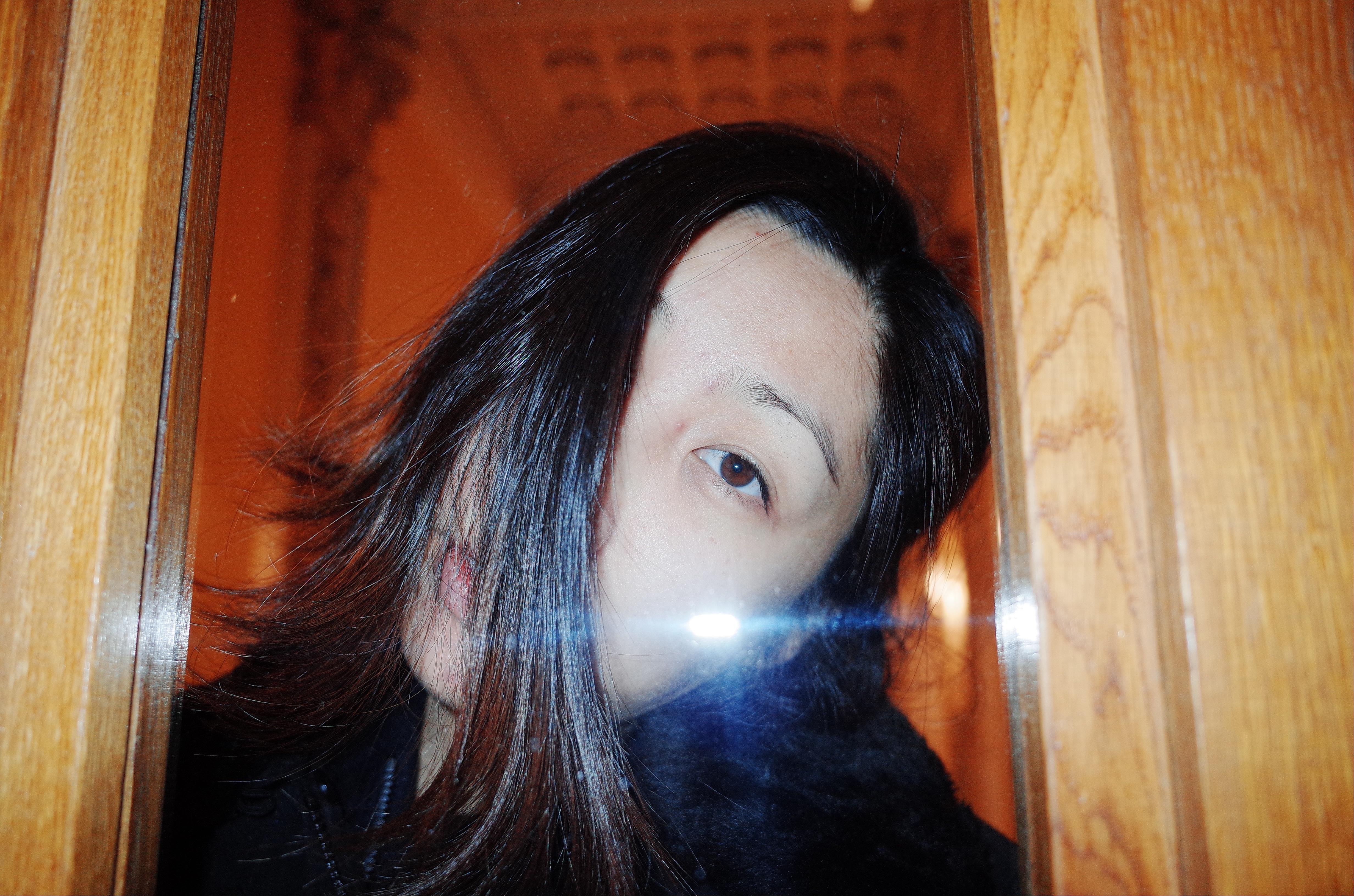 Cindy center eye. Prague, 2017