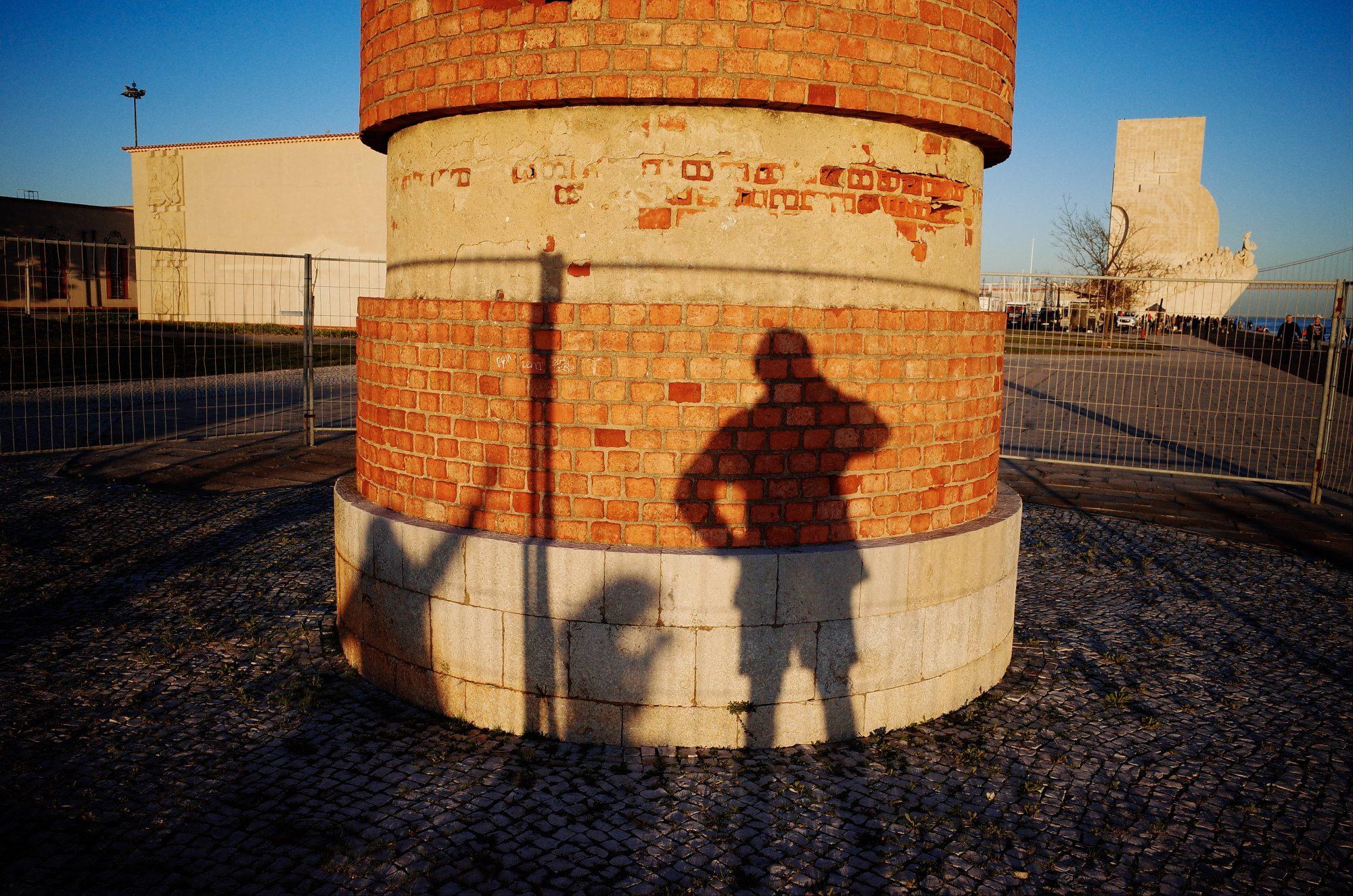 Family shadow selfie. Lisbon, 2018