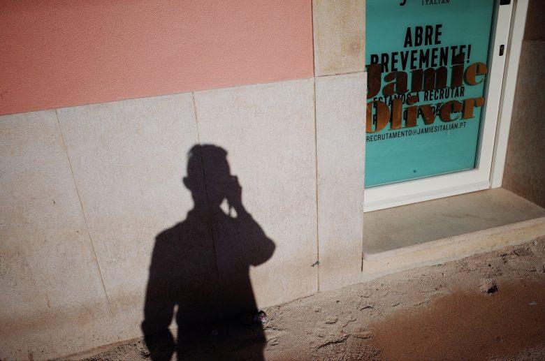 Selfie Jamie Oliver Lisbon