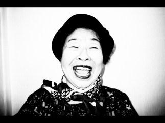 My laughing grandma. Seoul, 2017