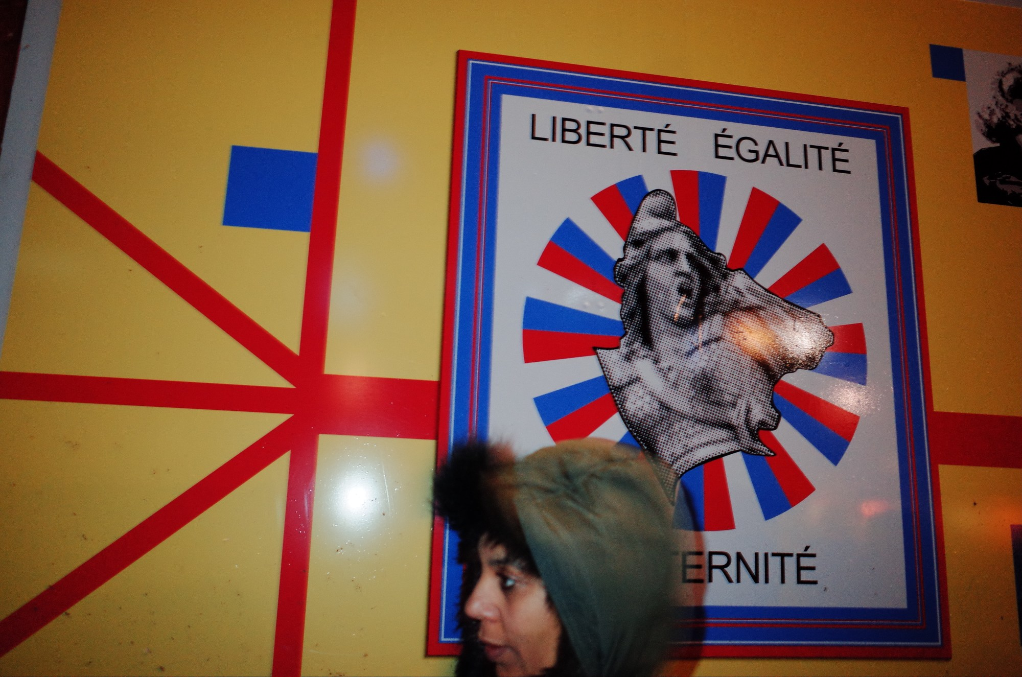 Liberty and equality. Marseille, 2018
