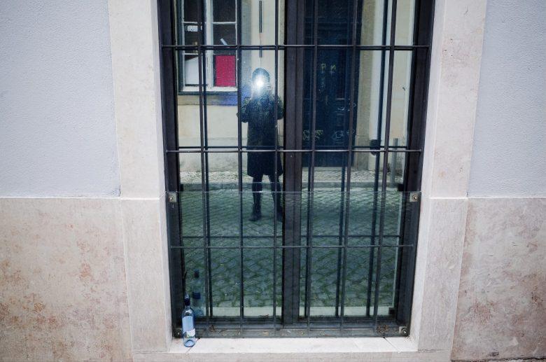 Selfie eric kim Lisbon mirror