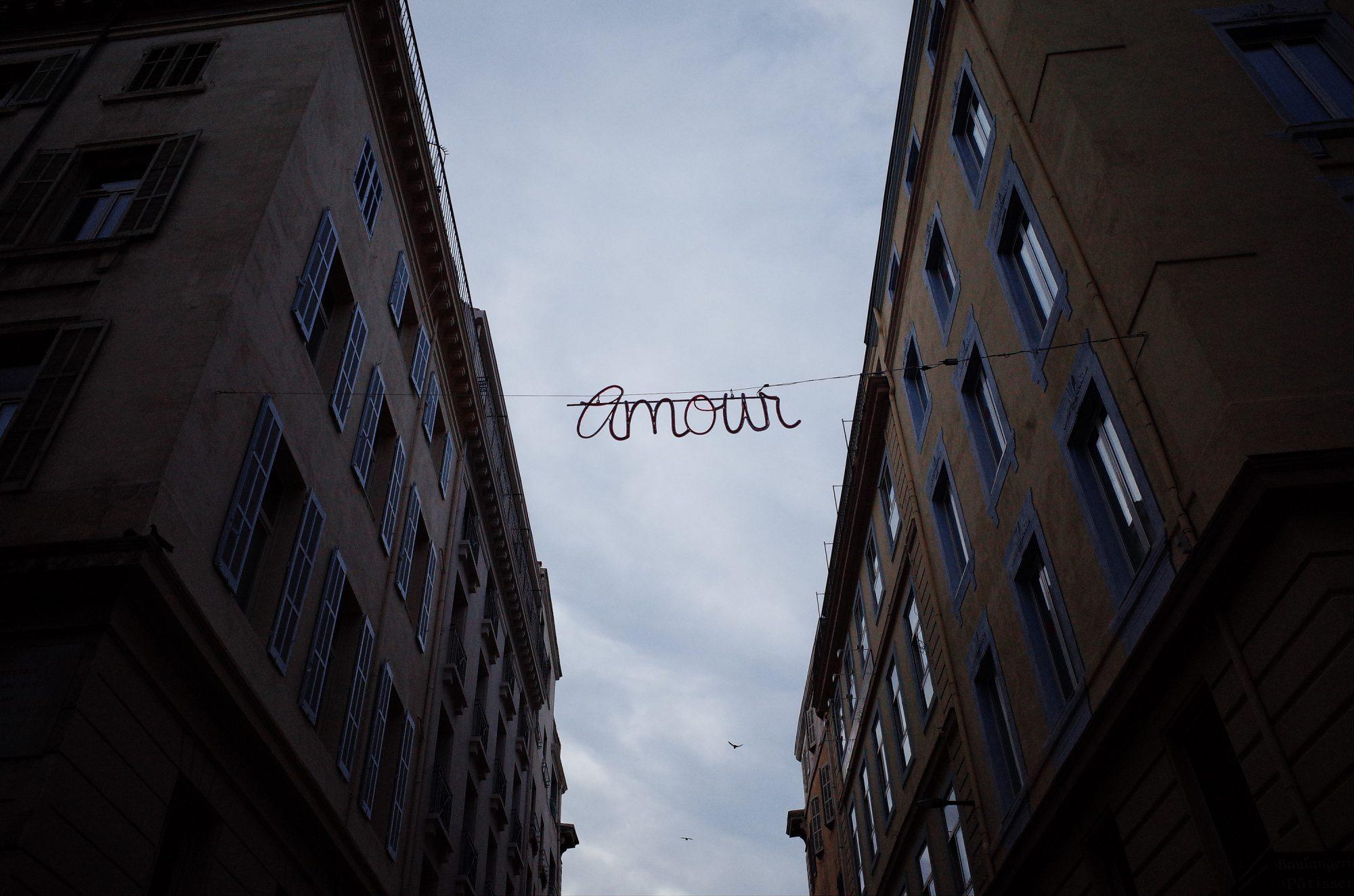 Amour. Marseille, 2018