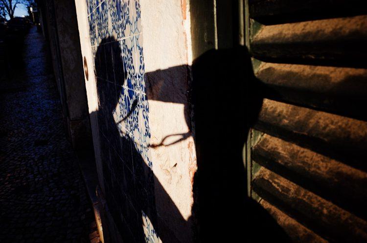 Selfie shadow. Lisbon, 2018
