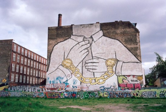 Golden handcuffs. Berlin, 2012