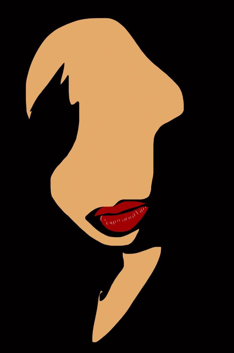 Abstract Cindy face Lisbon