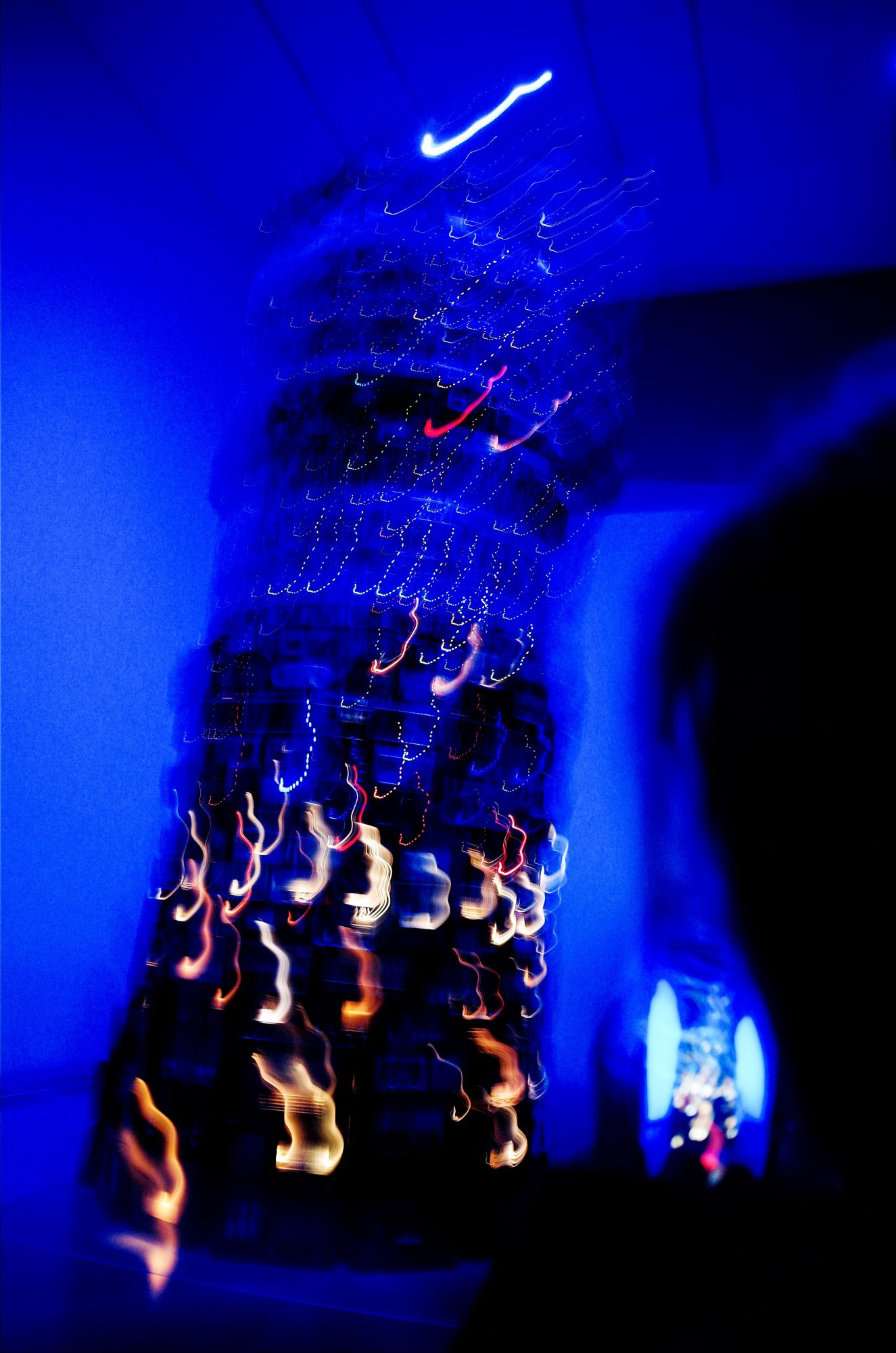 blue blurred TATE