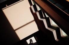 Shadow selfie and shadows. Uji, 2018