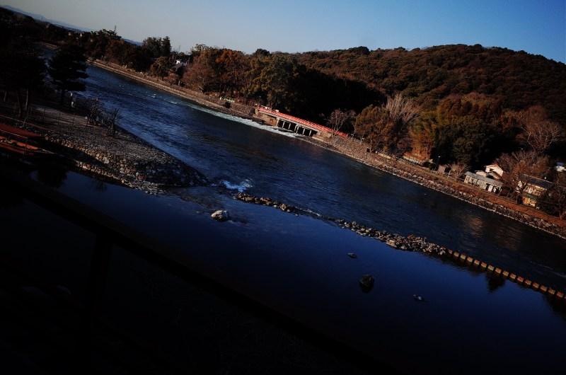 River view from Ryokan. Uji / Kyoto, 2018