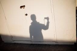 Shadow selfie. Orange County, 2018
