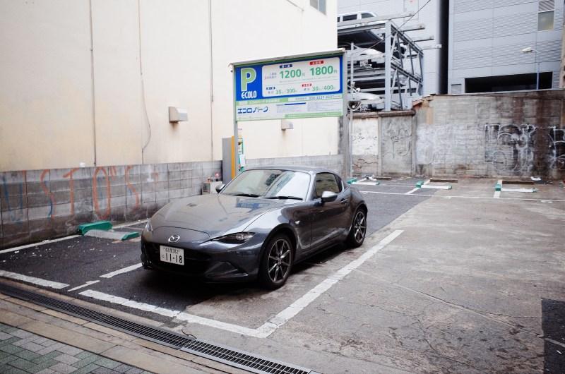 Mazda Miata hardtop. Osaka, 2018