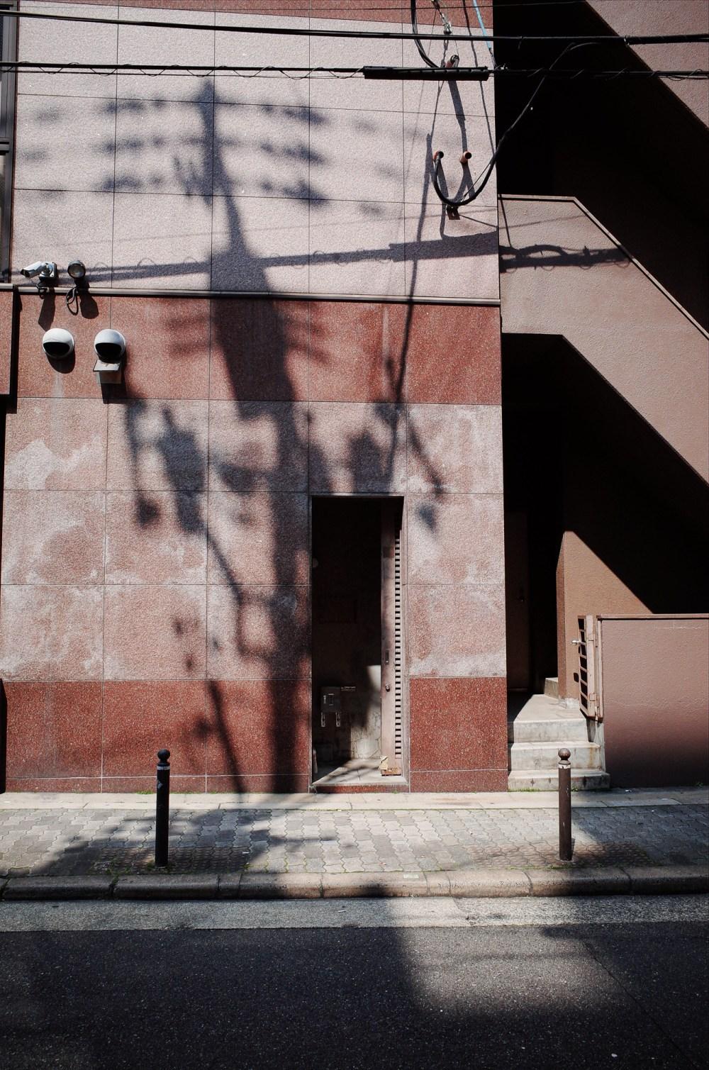 Urban landscape and shadows. Osaka, 2018