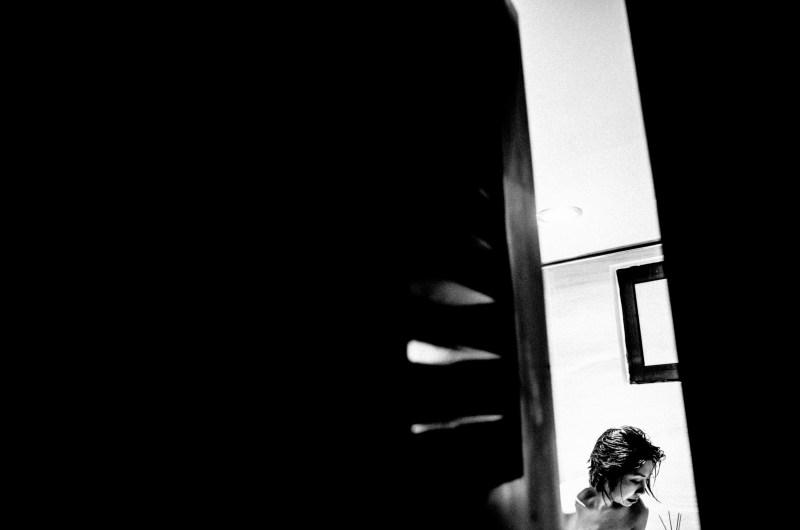 cindy minimalist angle photograph black and white apartment hanoi