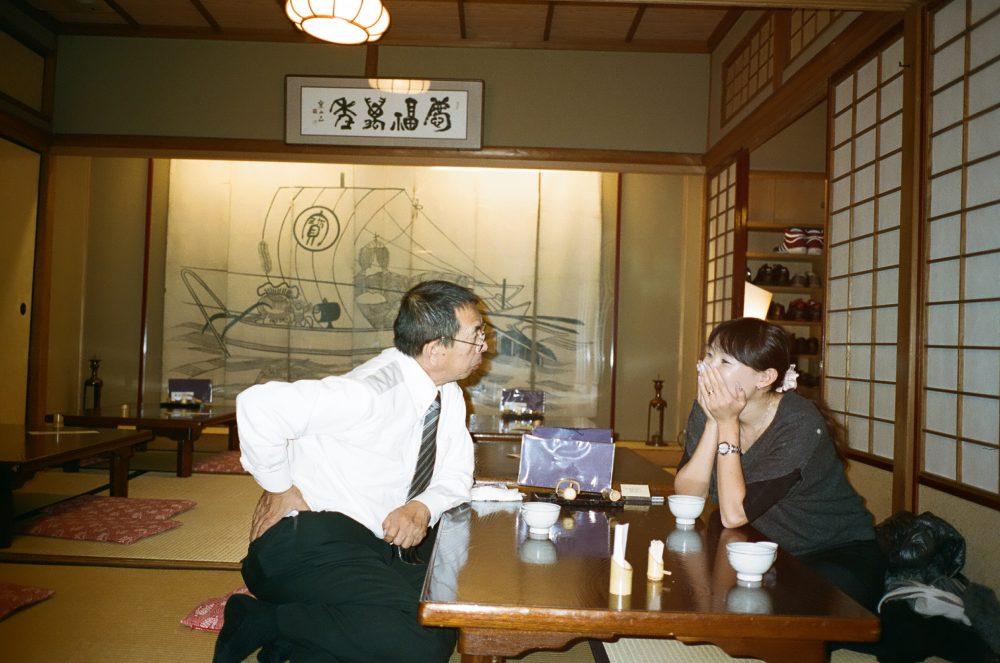Man suit Japan Kyoto woman street photography eric kim