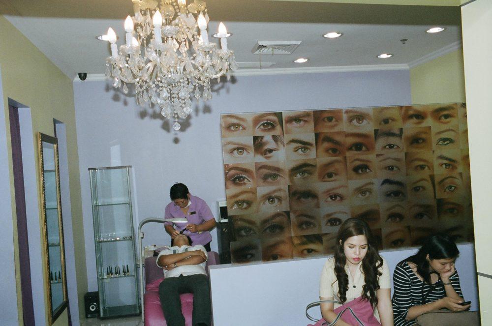 Manila Street photography eric kim flash long distance eye surgery clinic