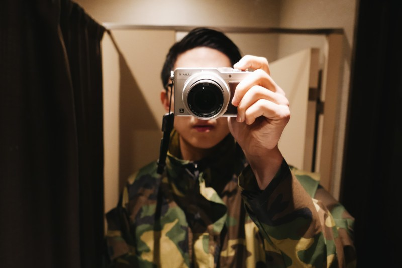 lumix selfie