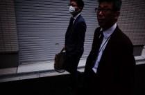 Dark suits. Osaka, 2018