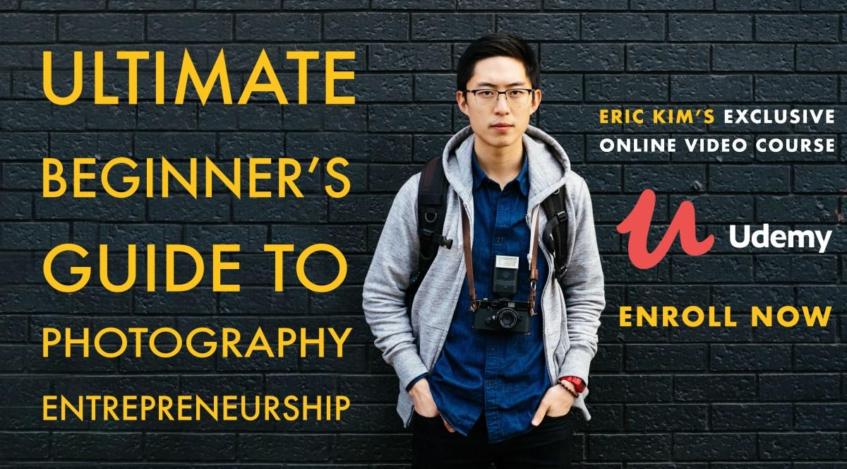 photography entrepreneurship by ERIC KIM on Udemy