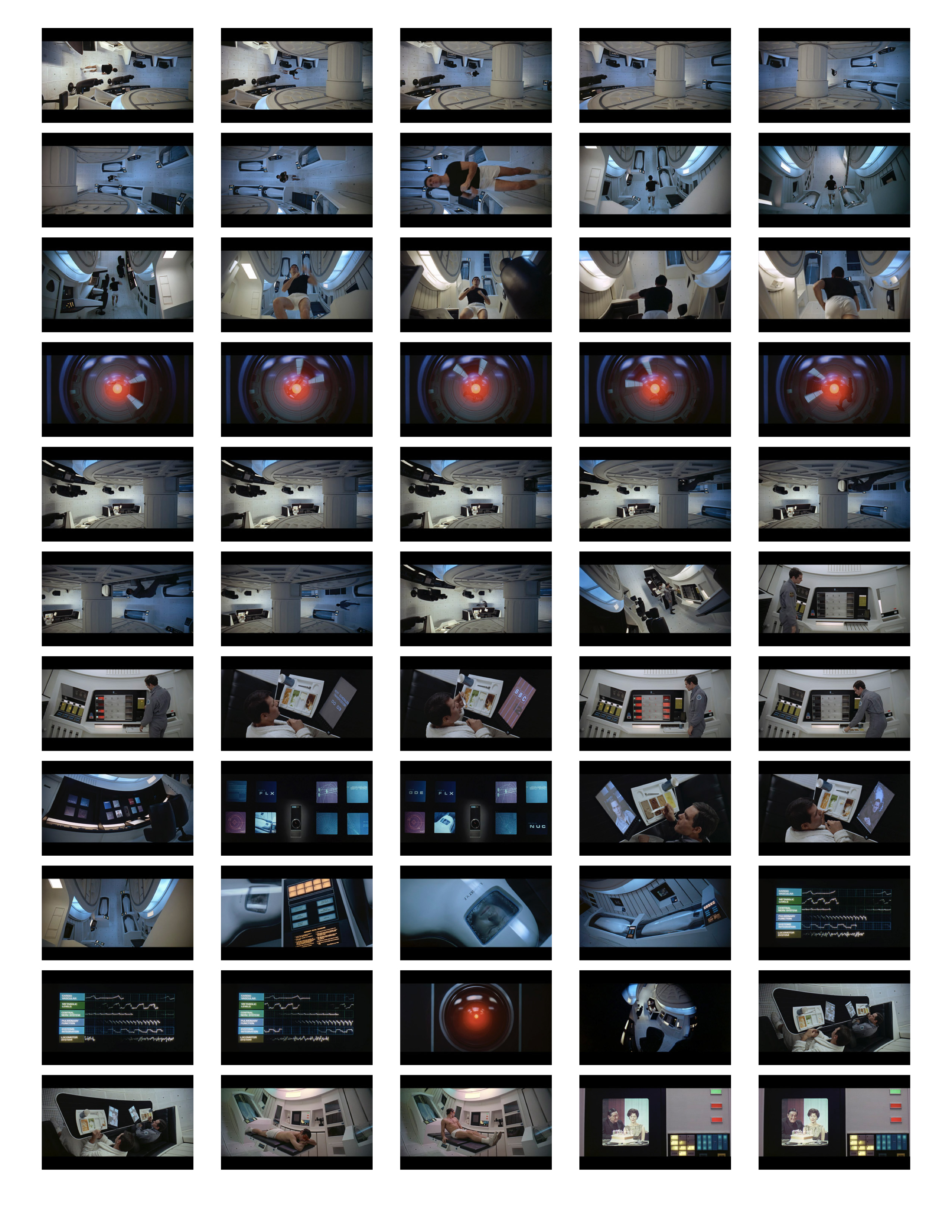 2001 Space Odyssey Cinematography - contact sheets-06
