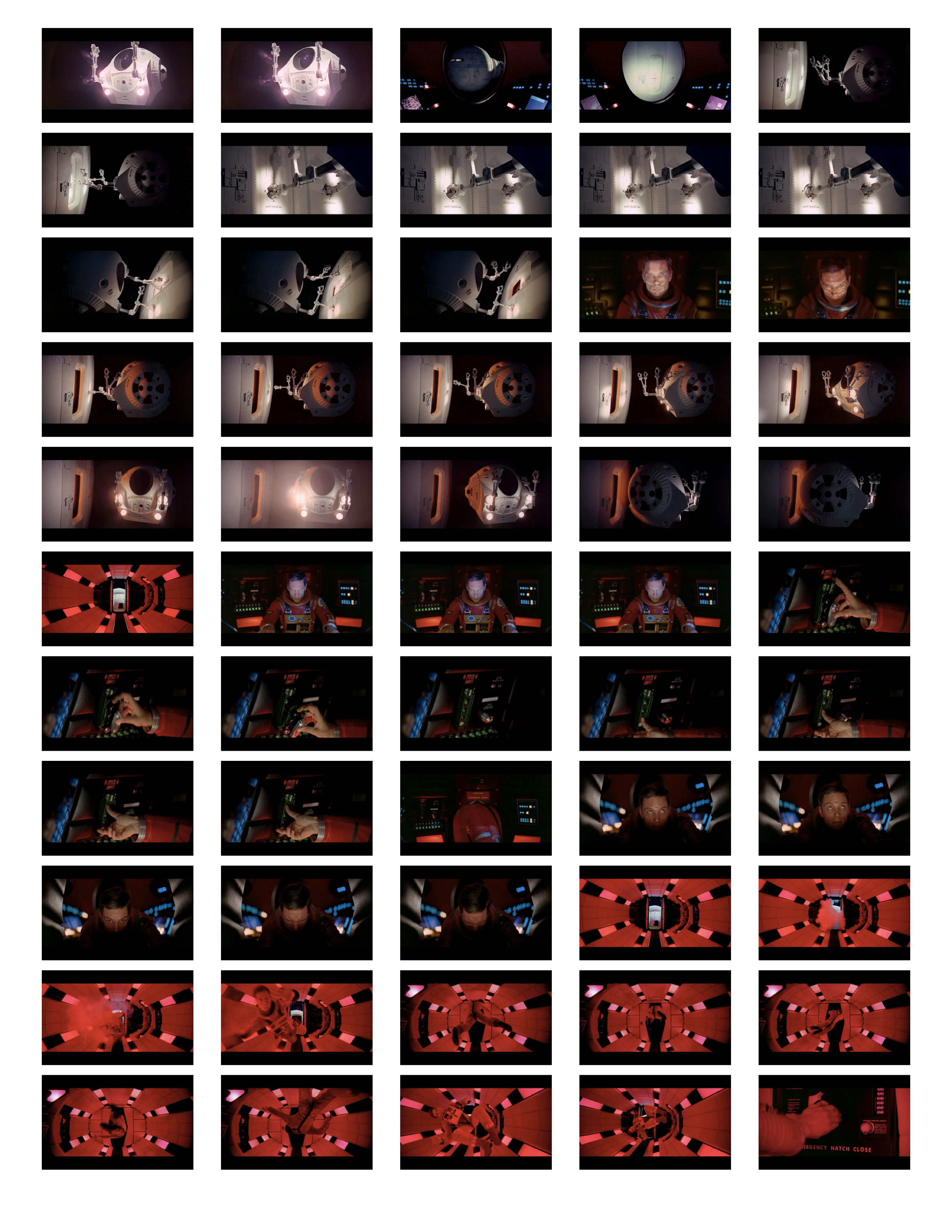 2001 Space Odyssey Cinematography - contact sheets-12