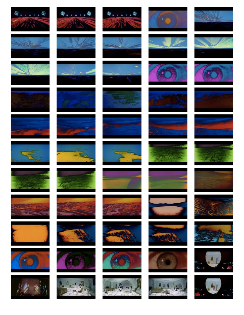 2001 Space Odyssey Cinematography - contact sheets-16