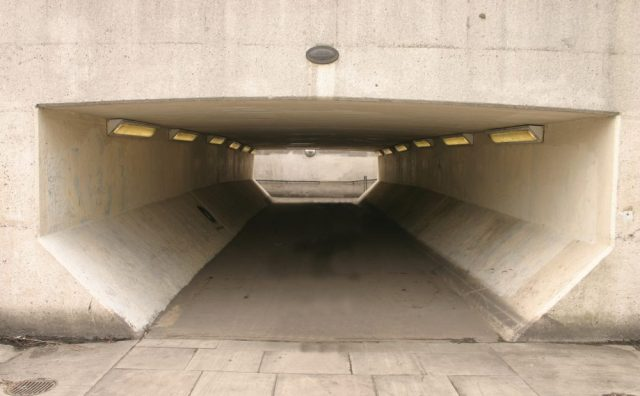 Tunnel for the filming of A Clockwork Orange