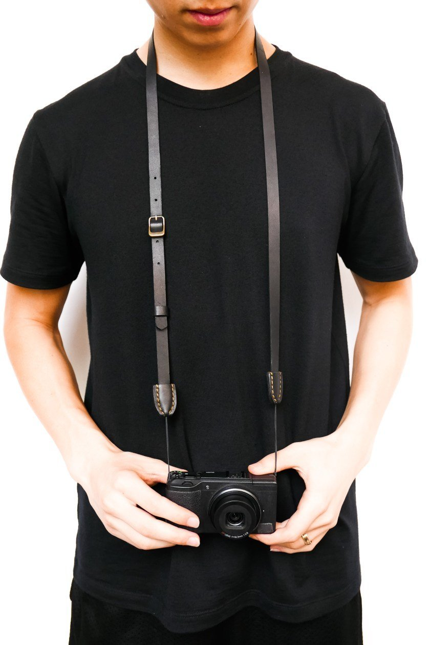 ERIC KIM Neck Strap for RICOH GR II