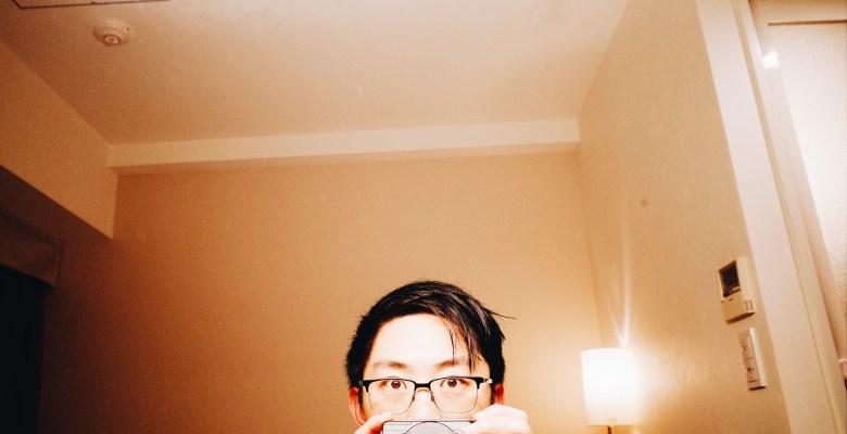 Selfie hotel room ricoh gr ii