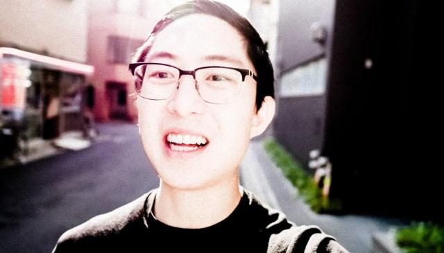 Eric kim selfie Lumix Asakusa light