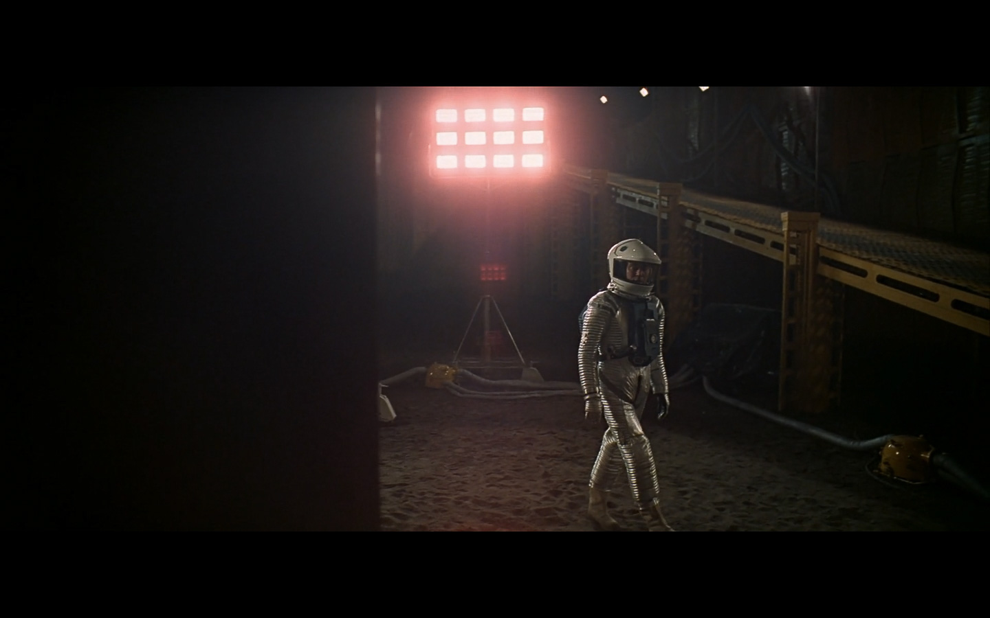 scene on the moon obelisk - space odyssey-10