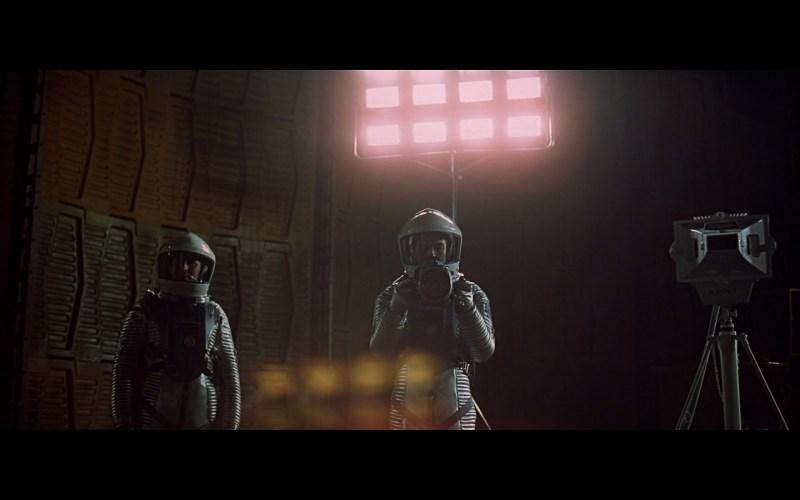 scene on the moon obelisk - space odyssey-11
