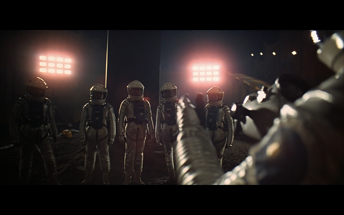 scene on the moon obelisk - space odyssey-22