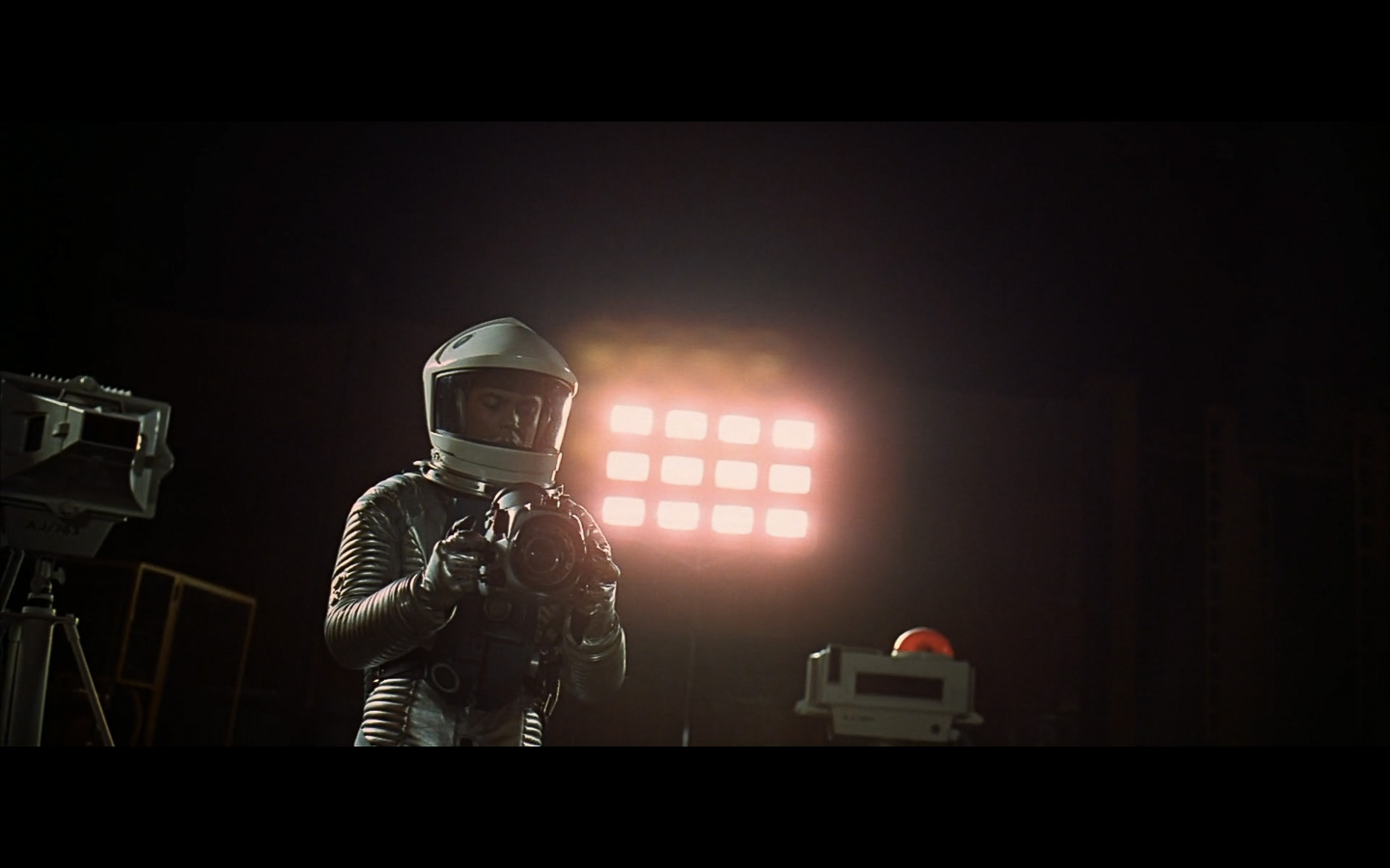 scene on the moon obelisk - space odyssey-23