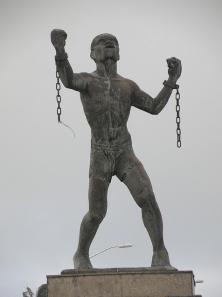 Bussa_statue