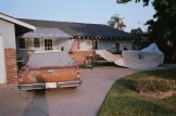 driveway and old chevorlet car eric kim only in america contact sheet6