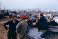 TUNISIA. Mahdia. 1959. Fishermen.