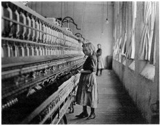 lewis hine Hine, Child in Carolina Cotton Mill, 1908