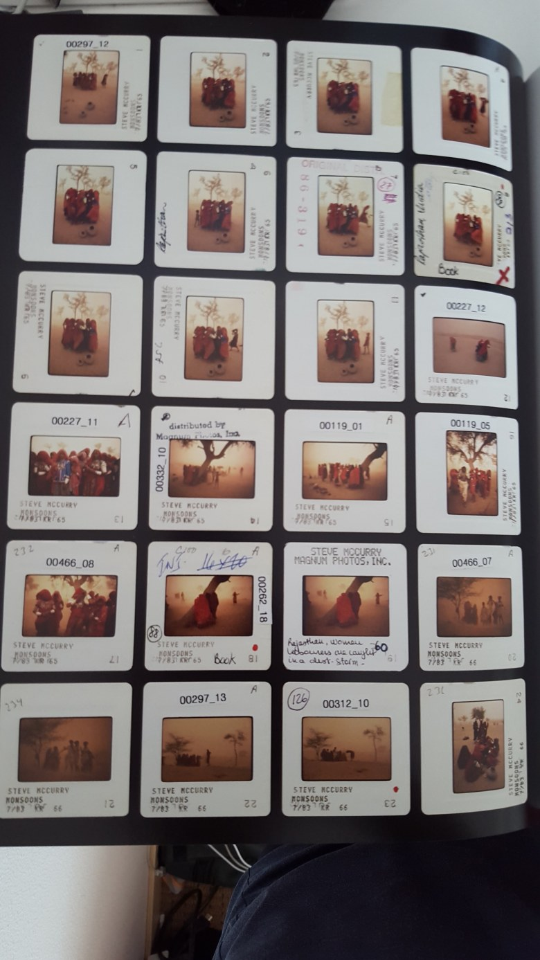 steve mccurry contact sheet sandstorm1