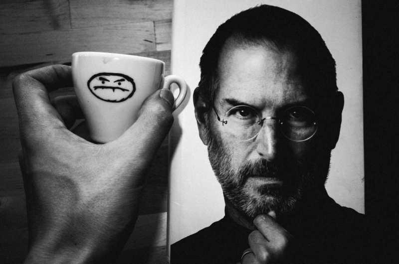 Steve Jobs espresso cup