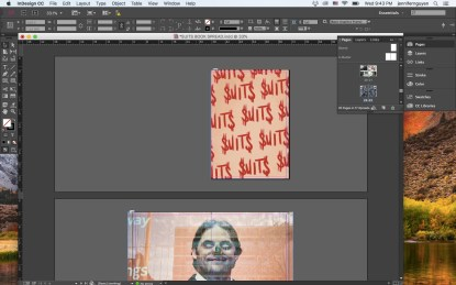 SUITS ERIC KIM PRINT EDITION - Adobe Indesign Screenshots 1-squashed
