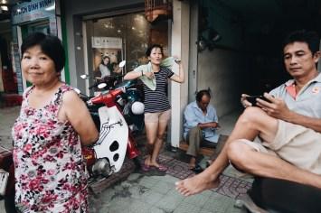 Layers Saigon street photography