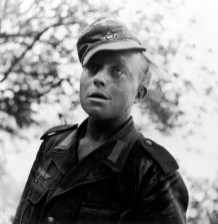 ITALY. Sicily, near Nicosia. July, 1943. German soldier captured by American forces.