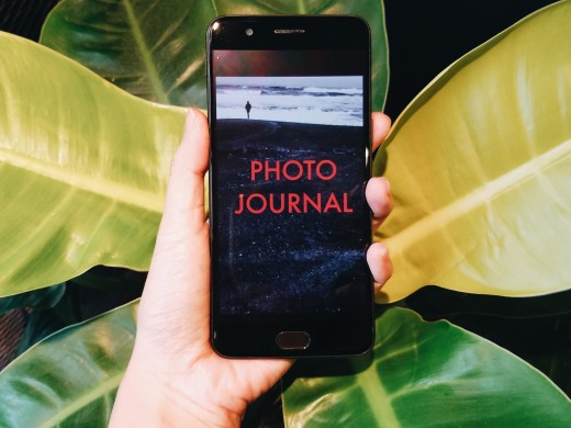 photo journal mobile edition leaves