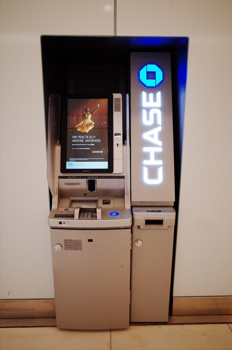 Chase account machine