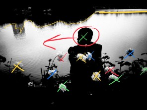 Hanoi street photography manual composition lake