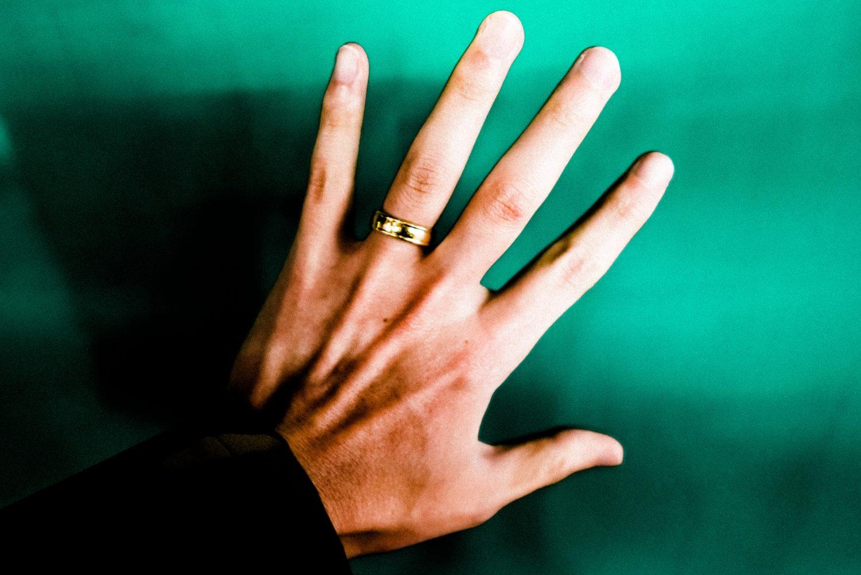 Hand green