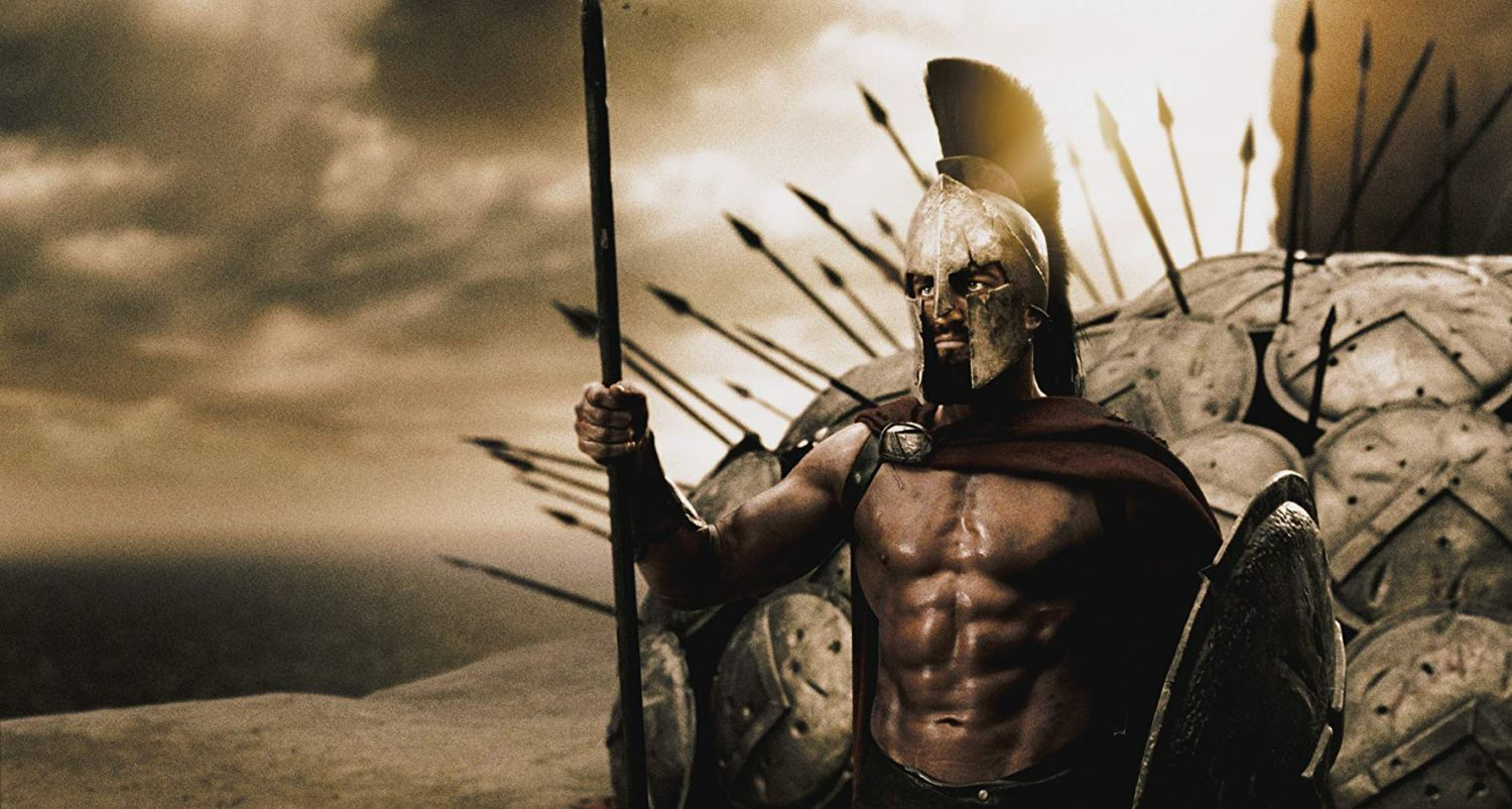 """e992cc61a07b If you ve never watched the movie """"300"""" — please watch it. It is one of my  favorite movies of all time– part for the epic stylized look"""