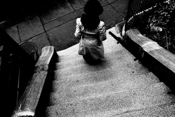 Cindy moving staircase high angle