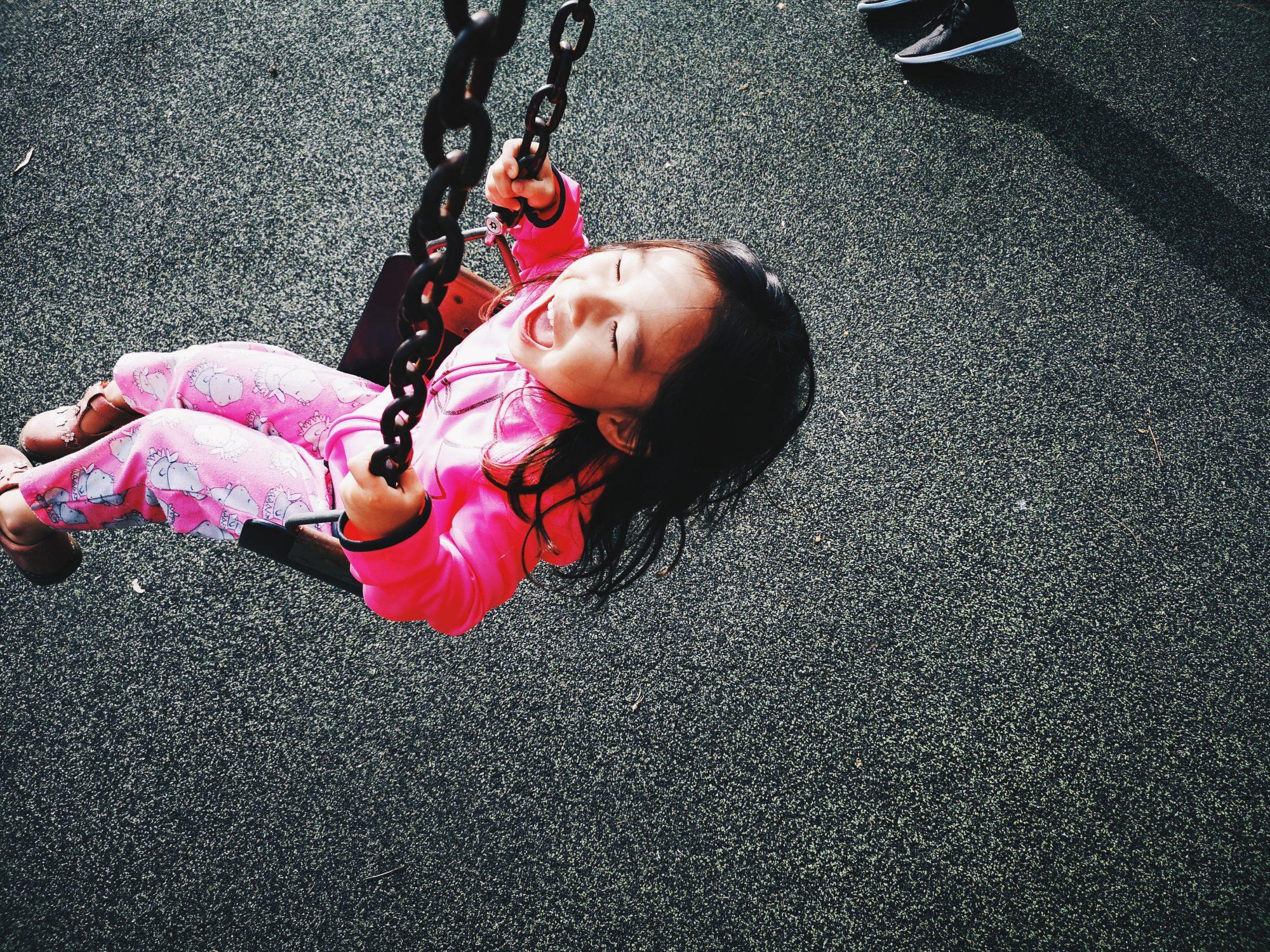 Amelia swings