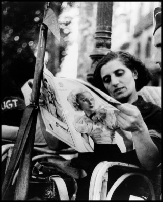 SPAIN. Barcelona. August 1936. A Loyalist militia woman.